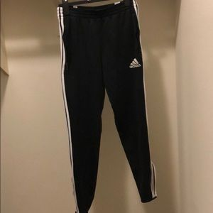 Adidas three stripe pants